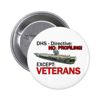 DHS: Whos Homeland? 6 Cm Round Badge