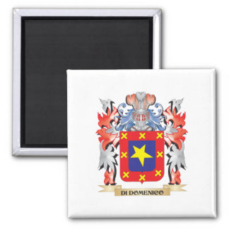 Di-Domenico Coat of Arms - Family Crest Magnet