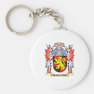 Di-Matteo Coat of Arms - Family Crest Key Ring