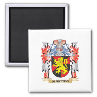 Di-Matteo Coat of Arms - Family Crest Magnet
