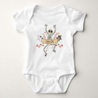 DIA DE Festival of the Dead Baby Bodysuit
