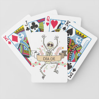 DIA DE Festival of the Dead Bicycle Playing Cards