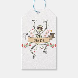 DIA DE Festival of the Dead Gift Tags
