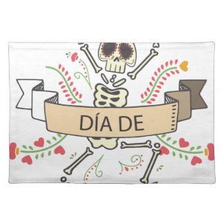 DIA DE Festival of the Dead Placemat