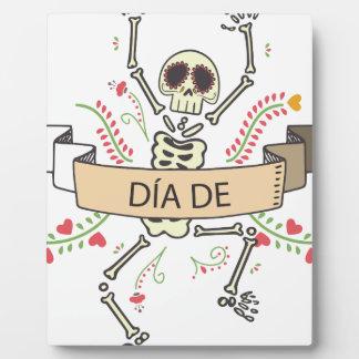 DIA DE Festival of the Dead Plaque