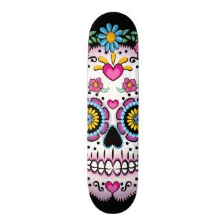 Dia de los Muerto Sugar skull 20.6 Cm Skateboard Deck