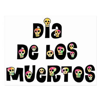 Dia De Los Muertos Calaveras Postcard