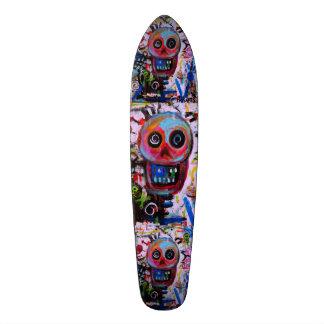 Dia de los Muertos Calaveras Skateboard