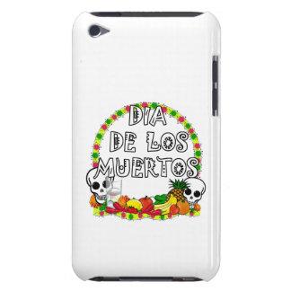 Dia De Los Muertos Circle with Skulls iPod Touch Case-Mate Case
