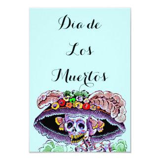 Dia de Los Muertos Day of the Dead Catrina Invites