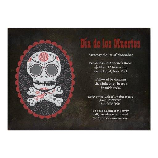 Dia De Los Muertos Day of the Dead Party Invite