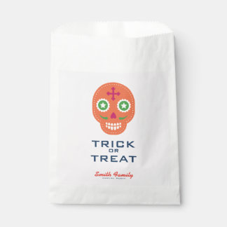 Dia De Los Muertos. Day of the Dead. Sugar Skulls. Favour Bag