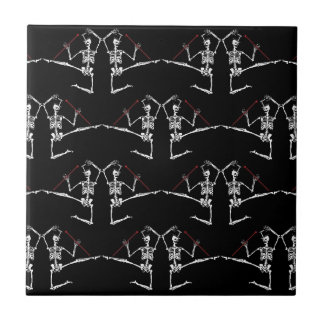 Dia de Los Muertos Day of the Dead trivet Tile