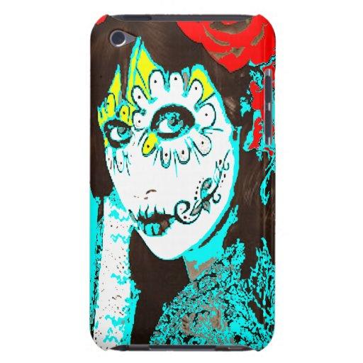 Dia de los Muertos face # 1.2 iPod Touch Cases