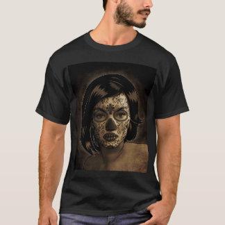 Dia De Los Muertos Face Tattoo T-Shirt
