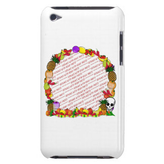 Dia De Los Muertos Fruity Photo Frame Barely There iPod Case