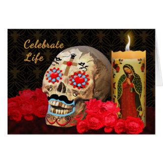 Dia de los Muertos Greeting Card
