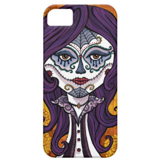 Dia de los Muertos iphone4 case-orange iPhone 5 Case