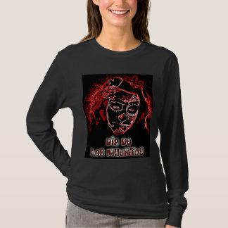Dia De Los Muertos ladies long sleeve Shirt
