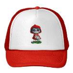 Dia de los Muertos Little Red Riding Hood Cap