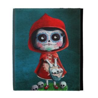 Dia de los Muertos Little Red Riding Hood iPad Cases