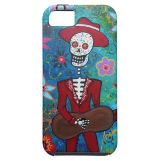 DIA DE LOS MUERTOS MARIACHI TOUGH iPhone 5 CASE