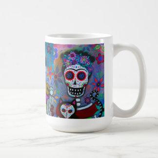 Dia De Los Muertos Mexican Artist Coffee Mug