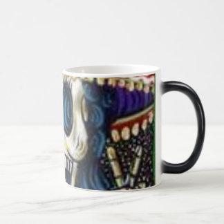 dia de los muertos morphing mug