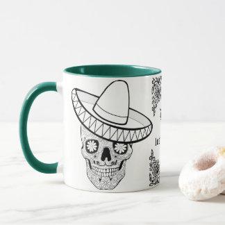 Día de los muertos Mug