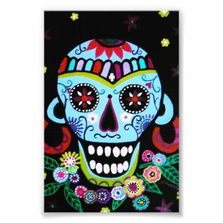 Dia de los Muertos Native Skull Azteca Art Photo