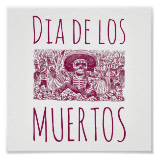 Dia De Los Muertos Poster Art