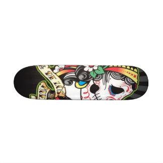 Dia de los Muertos Skate Board