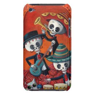 Dia de Los Muertos Skeleton Mariachi Trio iPod Touch Case