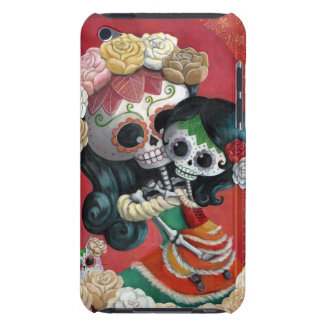 Dia de Los Muertos Skeletons Mother and Daughter Barely There iPod Covers