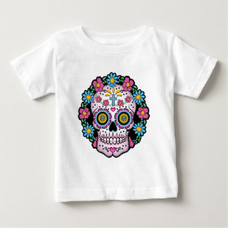 Dia de los Muertos Skull Baby T-Shirt
