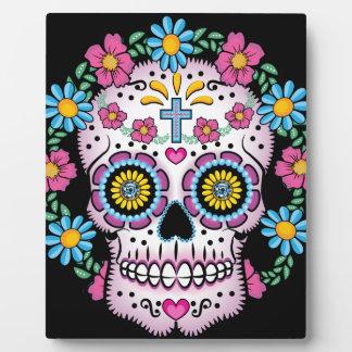 Dia de los Muertos Skull Plaques