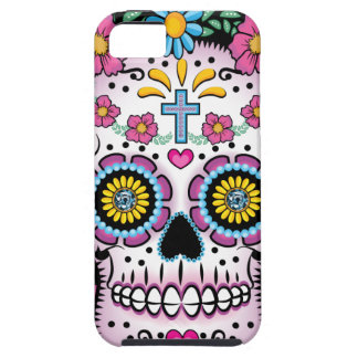 Dia de los Muertos Skull Tough iPhone 5 Case