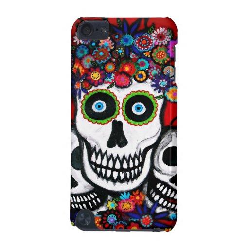 Dia de los Muertos skulls iPod Touch 5G Covers