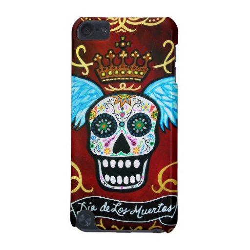 Dia de los Muertos skulls iPod Touch (5th Generation) Case