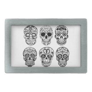 Dia de los Muertos Skulls (Day of the Dead) Belt Buckles