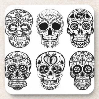 Dia de los Muertos Skulls (Day of the Dead) Coaster