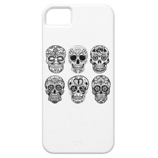 Dia de los Muertos Skulls (Day of the Dead) iPhone 5 Covers