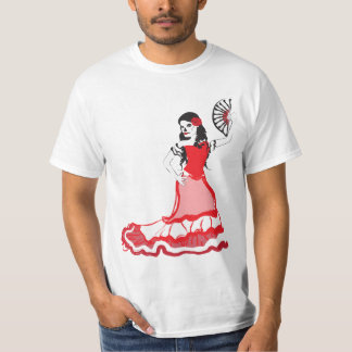 dia de los muertos spanish dancer T-Shirt