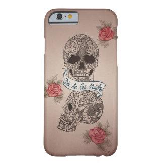 Dia De Los Muertos Sugar Skull Barely There iPhone 6 Case