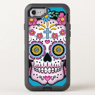 Dia de los Muertos Sugar Skull OtterBox Defender iPhone 8/7 Case