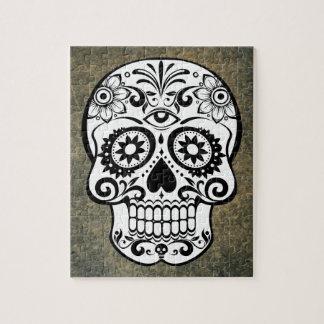 Dia De Los Muertos Sugar Skull Puzzle