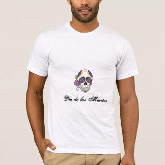 Dia de los Muertos Sugar Skull Tshirt