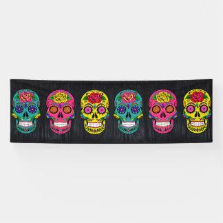 Día de los Muertos Sugar Skulls Banner