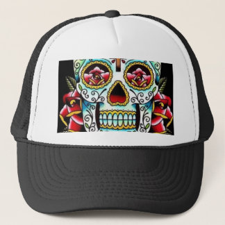 Dia De Los Muertos Trucker Hat