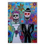 DIA DE LOS MUERTOS WEDDING GREETING CARDS